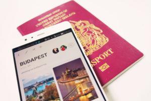British passport and travel app