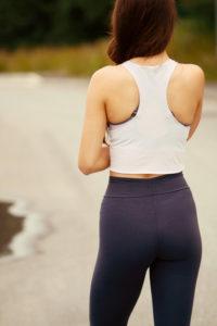 Figure flattering fitness leggings