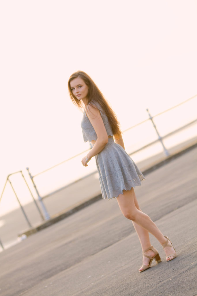 grey-skater-dress