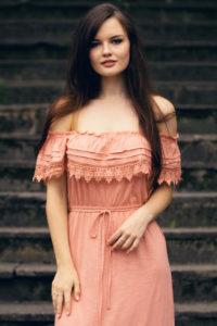 Pretty feminine portrait shoot