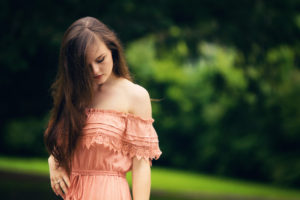 Feminine maxi dress outfit