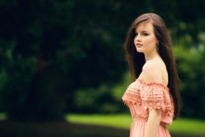 Miss Selfridge pink maxi dress