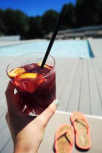 Drink at The Fergus Resort, Magaluf, Majorca