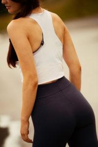 Butt flattering fitness leggings
