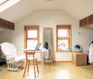 Teen loft bedroom