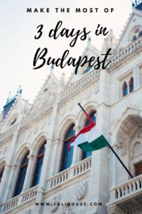 How to make the most of 3 days in Budapest | Travel tips for visiting Buudapest, Hungary | best things to do in Budapest for first timers
