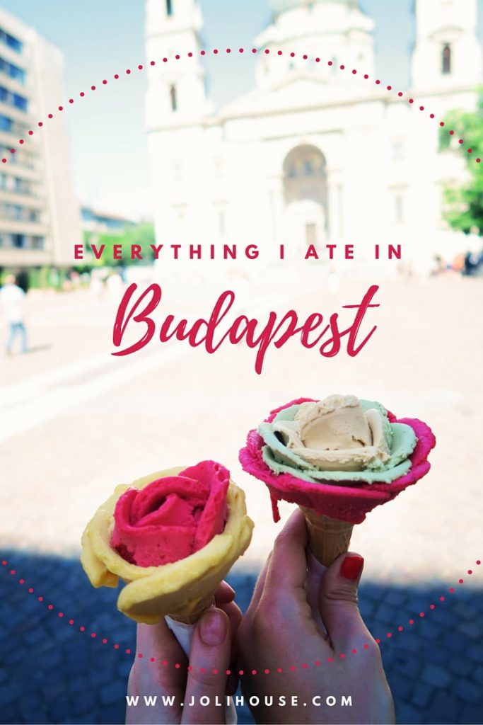 everything I ate in Budapest