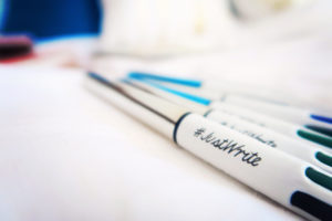 Bic pens #justwrite
