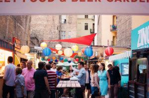Street food, Budapest, Hungary
