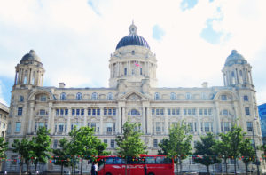 Beautiful building in Liverpool England.