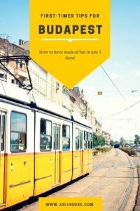 tips for first timers in Budapest