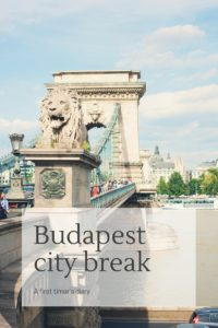 Budapest city break diary