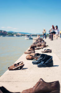Shoe on the Danube memorial