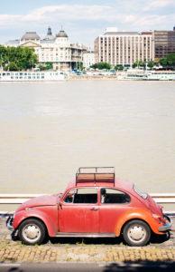 VW Beetle Danube, Budapest