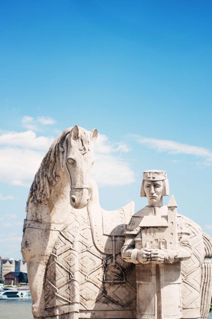 statue-near-liberty-bridge-budapest