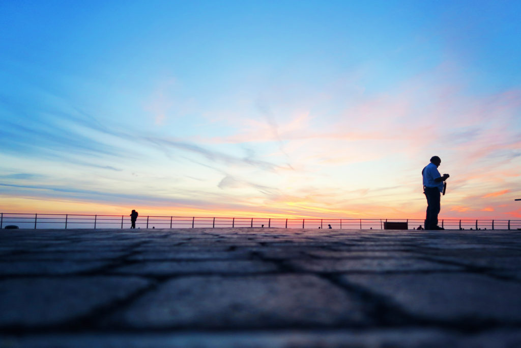 silhouettes-on-blackpool-promenade