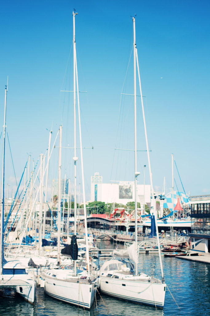 sailboats-barcelona