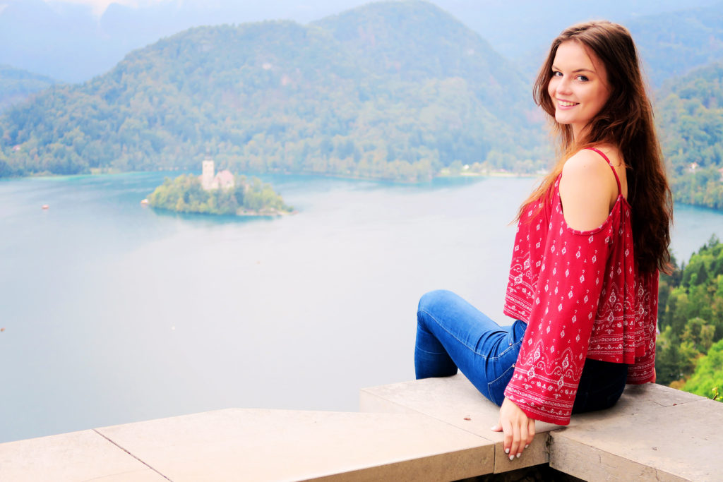 girl-looking-over-lake-bled