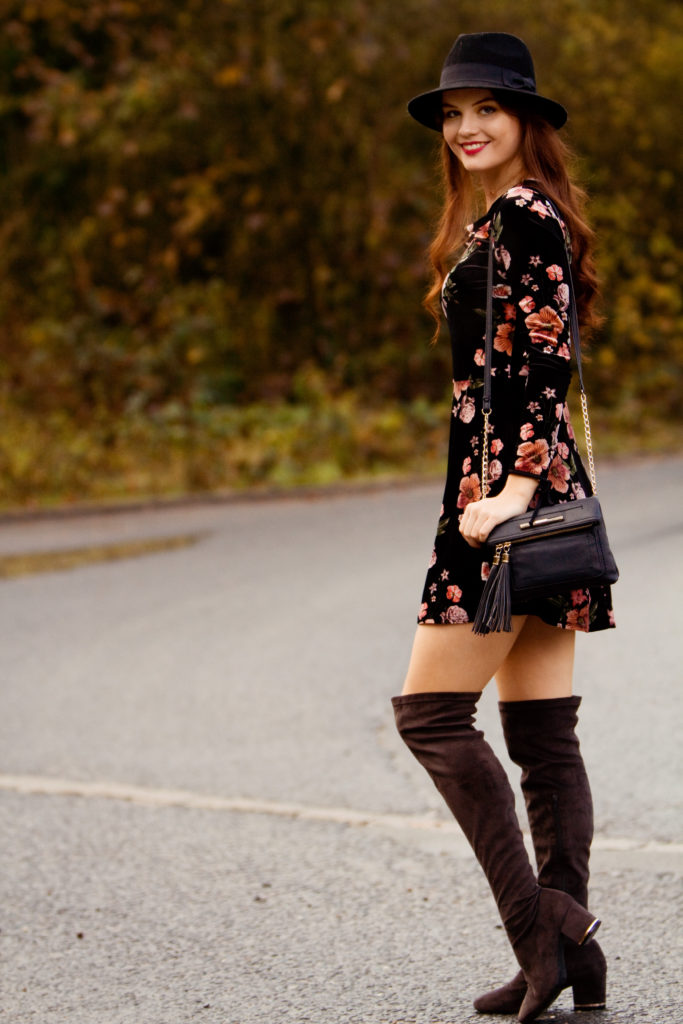 topshop-velvet-skater-dress