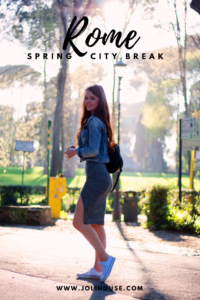 Rome spring city break tips; things to do in Rome; best tours in Rome of Vatican, Colosseum, city centre hotspots, Borghese gallery; European city break outfit