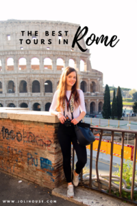 Rome spring city break tips; things to do in Rome; best tours in Rome of Vatican, Colosseum, city centre hotspots, Borghese gallery; city break outfit