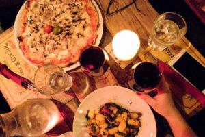 Pizza Gnocchi grazia grazielle Trastevere Rome Italy