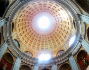 Dome ceiling at Vatican City Italy