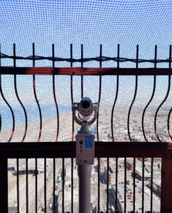 Telescope at top of Blackpool Tower